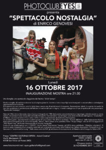 Spettacolo Nostalgia di Enrico Genovesi